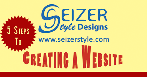 5 steps to creating a website