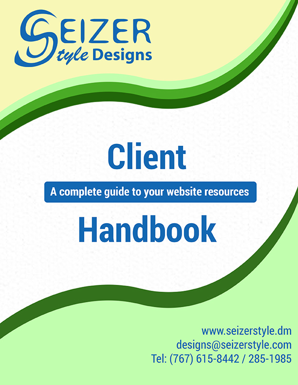 Client Handbook Cover