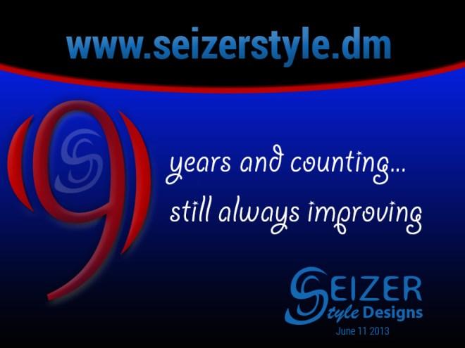 SeizerStyle Designs 9th Anniversary