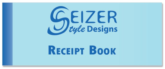 SSD Receipt Book Cover