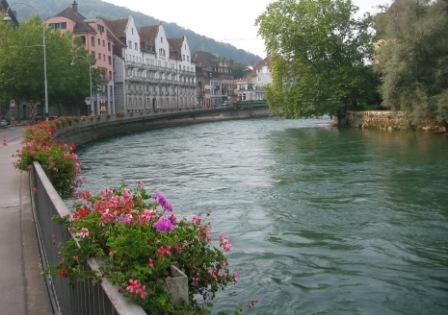 Baden River, Swiss