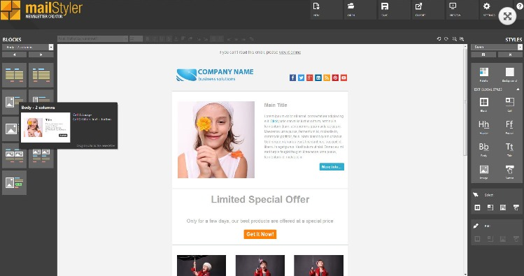 We designed and optimized each email template to be responsive and fully customizable. Top 6 Free Html Email Editors To Easily Create Html Emails
