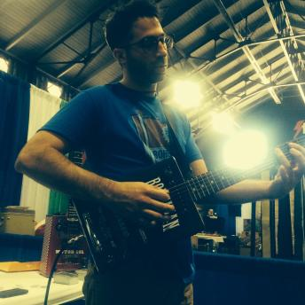 Shaun Lee, co-founder of Bohemian Guitars