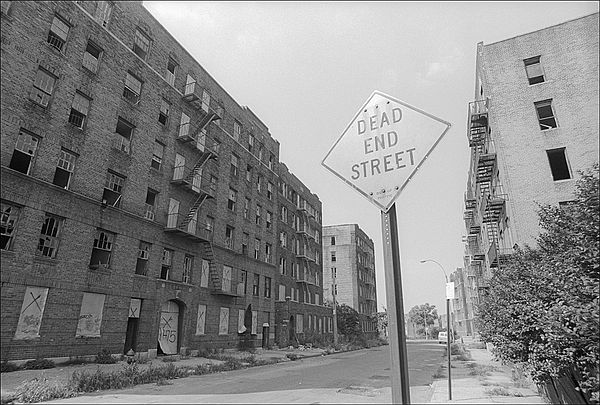 South Bronx in the early 80's