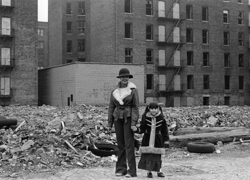 Woman and Child in the South Bronx, early 1980's