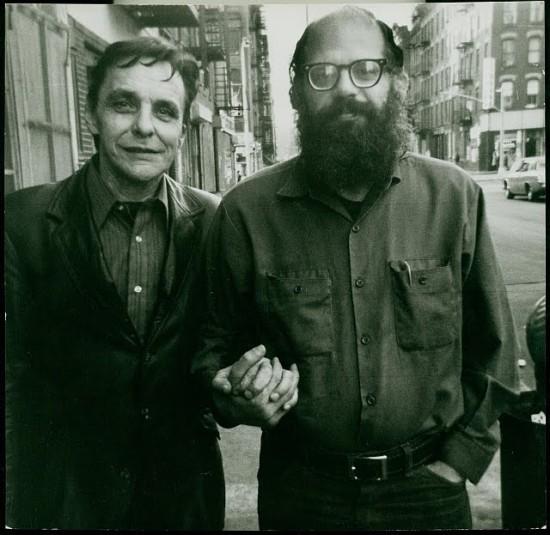 Herbert Huncke and Allen Ginsberg 1960s