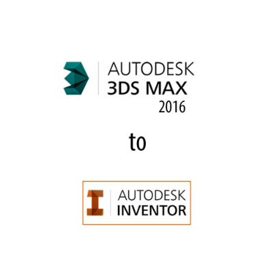 Inventor to 3ds Max New 2016 Workflows