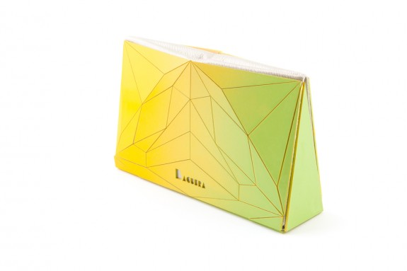Lime Baguera Vectory Clutch