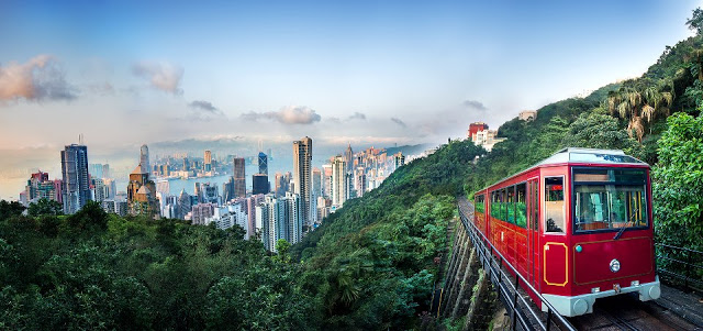 香港山頂纜車 | 東南旅遊