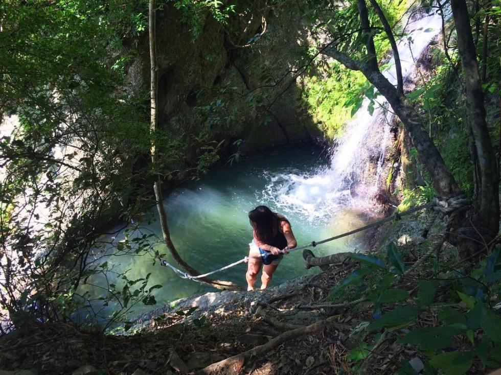墾丁七孔瀑布溯溪垂降體驗|東南旅遊