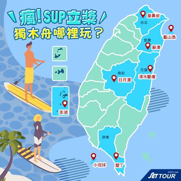 全台SUP獨木舟|東南旅遊