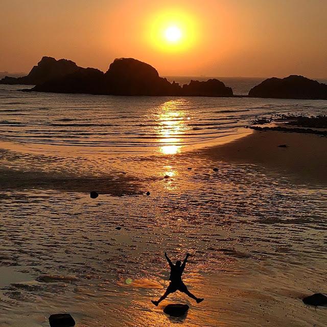 馬祖坤坵沙灘|東南旅遊