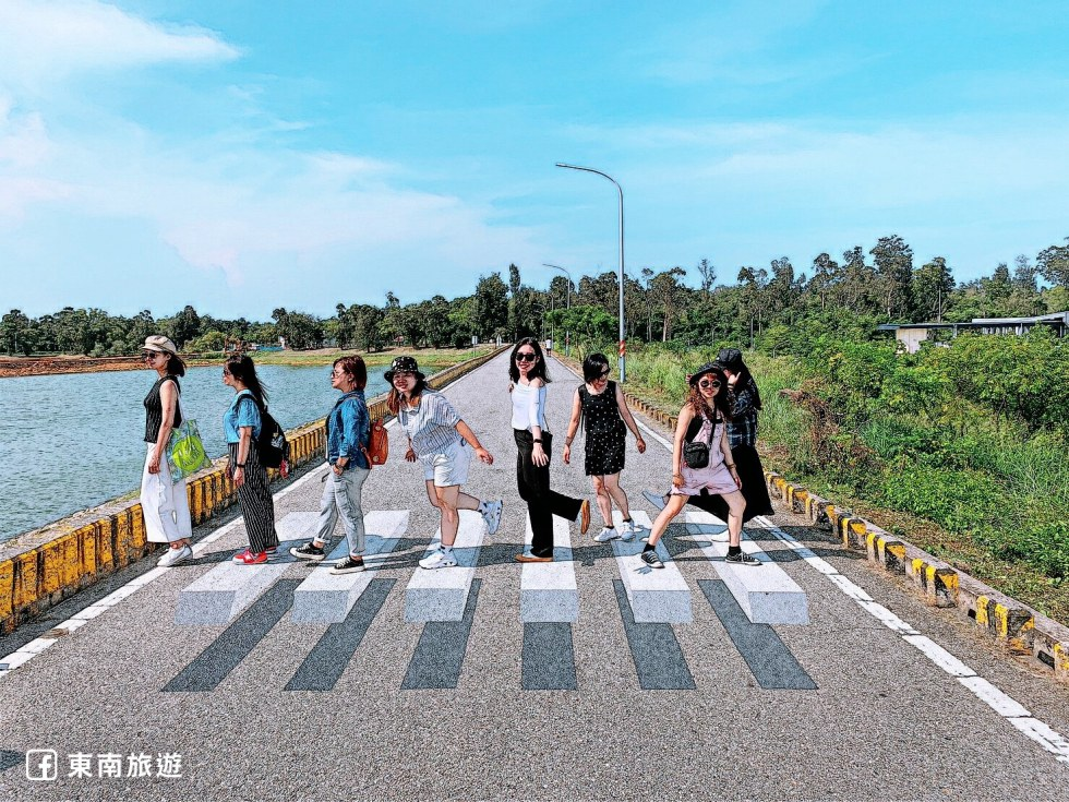 金門漂浮斑馬線|東南旅遊