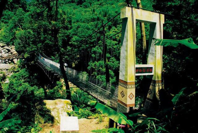 神仙谷吊橋|東南旅遊
