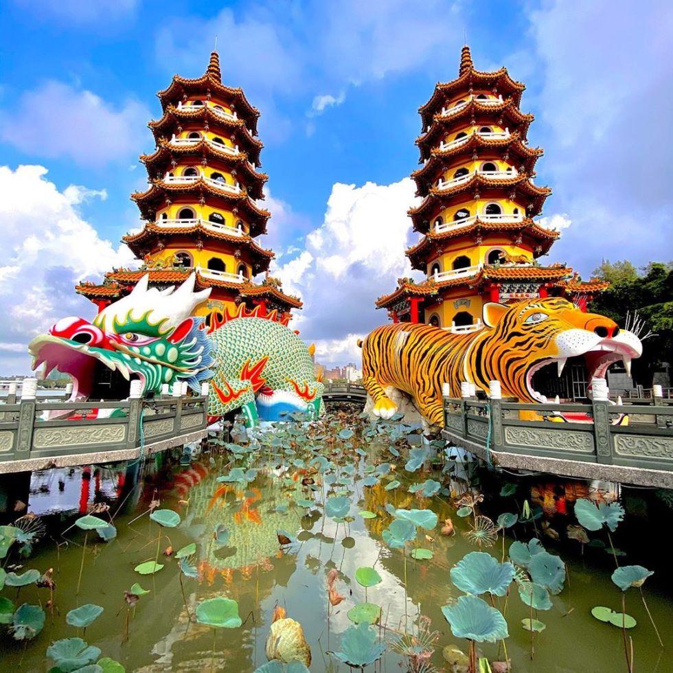 龍虎塔|東南旅遊