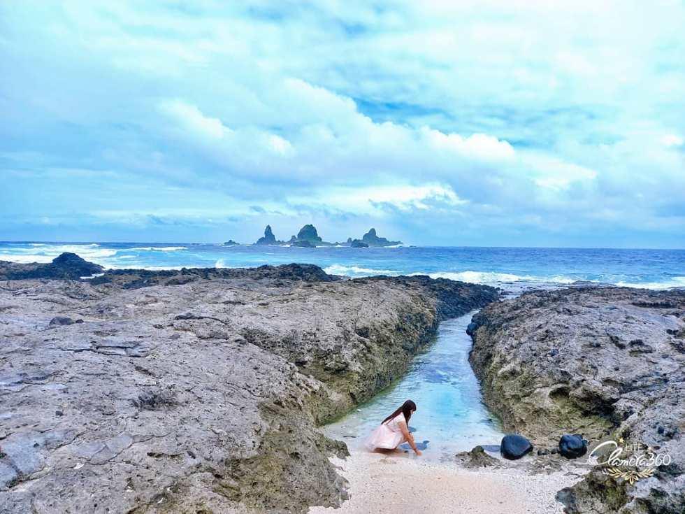 蘭嶼貝殼海灘|東南旅遊