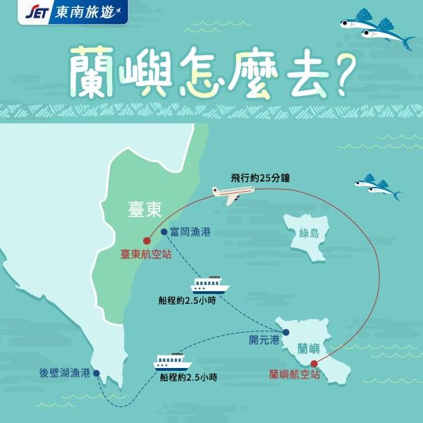 蘭嶼怎麼去BN | 東南旅遊