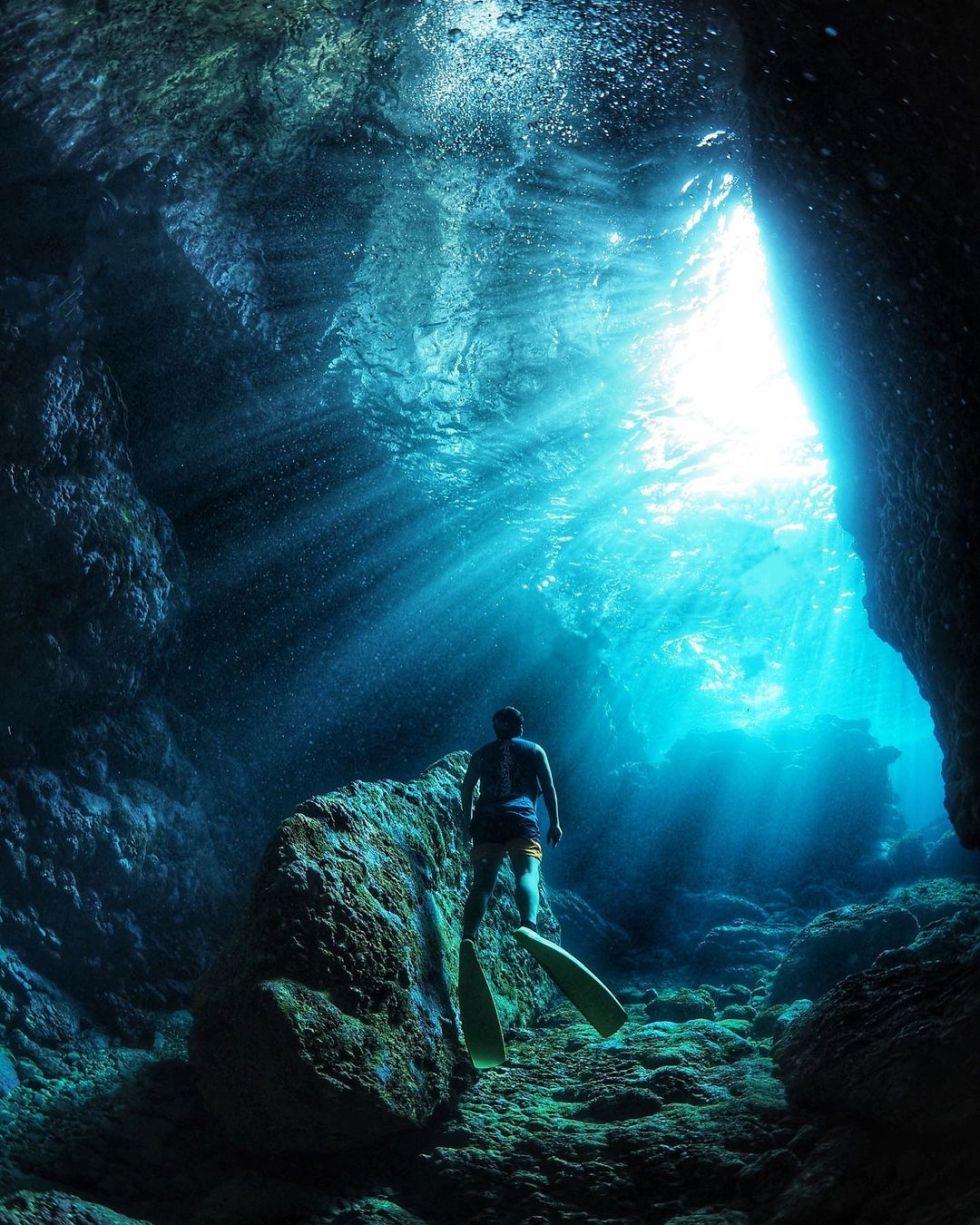 綠島藍洞 東南旅遊