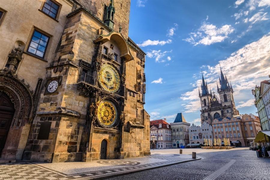 布拉格天文鐘 東南旅遊