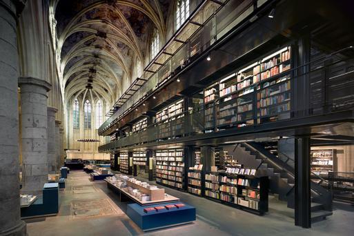 荷蘭馬斯垂克天堂書店|東南旅遊
