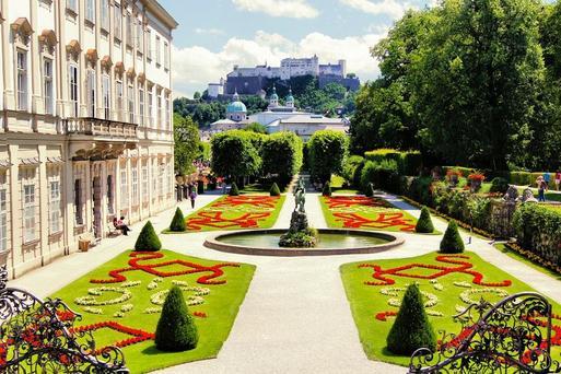 奧地利米拉貝爾花園 東南旅遊