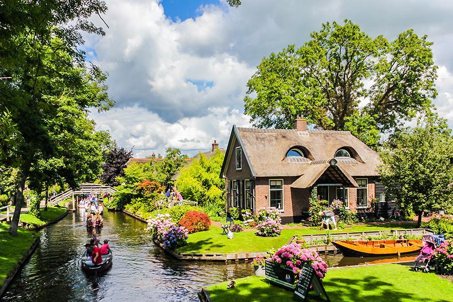 荷蘭羊角村|東南旅遊