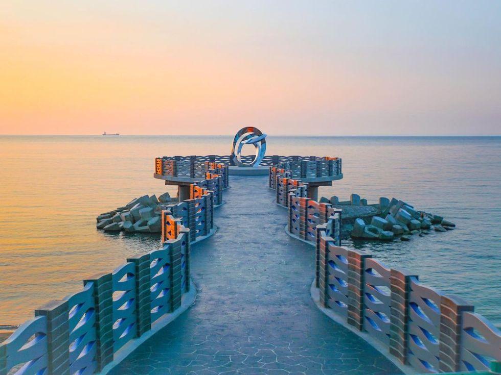 芝蘭公園海上觀景平台|圖片來源:IG帳號 @qiuung