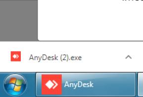 Captura do download do anydesk.com
