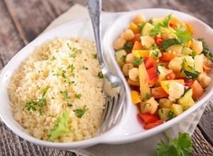 Semoules, blé, maïs, millet, quinoa