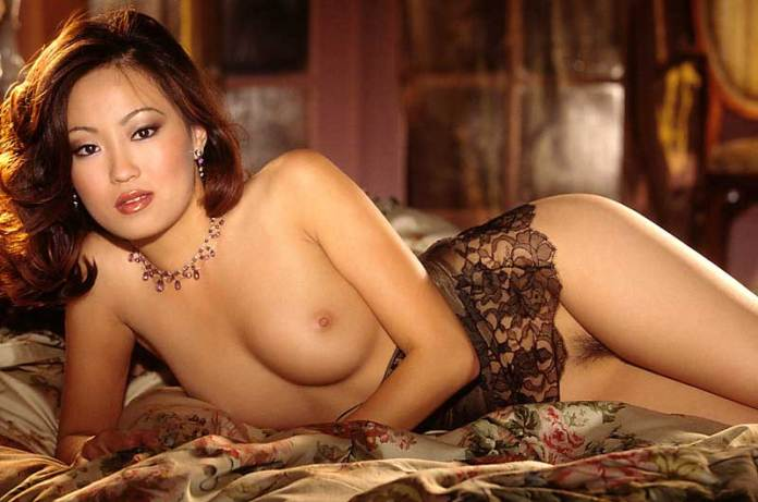 American nude model and the Playboy Cyber Girl Michelle Lin