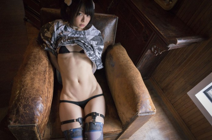 Ushijima-nude-sexy-photos-leaked-025-from-sexvcl.net_ Cosplay girl Iiniku Ushijima nude sexy photos leaked