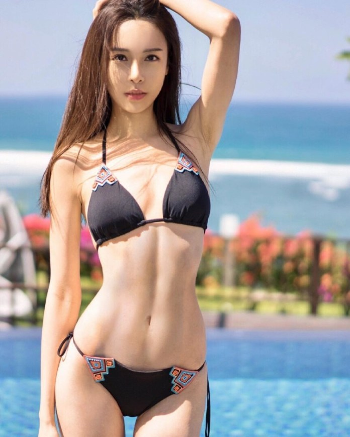 Former Miss Malaysia, fitness model Cathryn Li nude sexy leaked