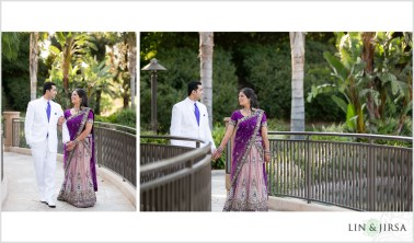 Their reception was at Pacific Palms, a stunning resort that does several desi weddings every year.