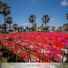 Chiavari chairs can be used outdoors and indoors