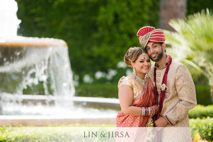 Newport_Beach_Marriott_Hindu_ceremony_Indian_wedding_Punjabi_Sindhi_fountain