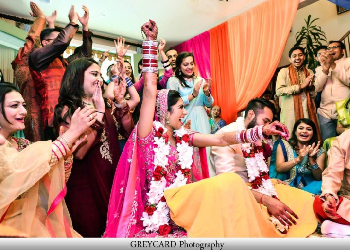 The ring game at Indian weddings