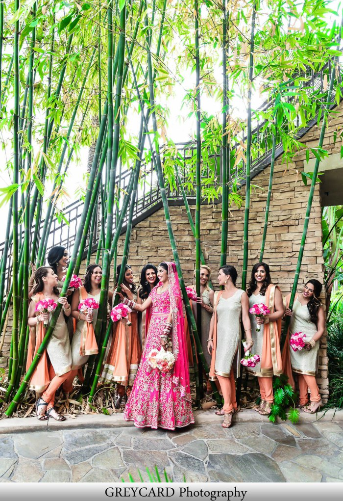 Punjabi Sikh Indian wedding outdoors called Anand Karaj at Pacific Palms Resort
