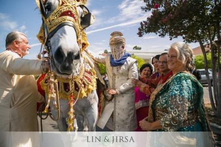 Indian-Wedding-Venue-Southern-California-Orange-County-Lin-Jirsa-Richard-Nixon-Foundation-Library-Yorba-Linda-horse-baraat
