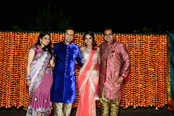Ankit, Shailvi and her siblings.