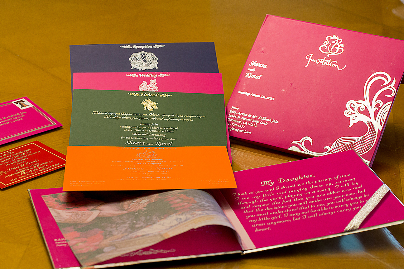 Indian Wedding Invitations and Stationers in the USA, India ...