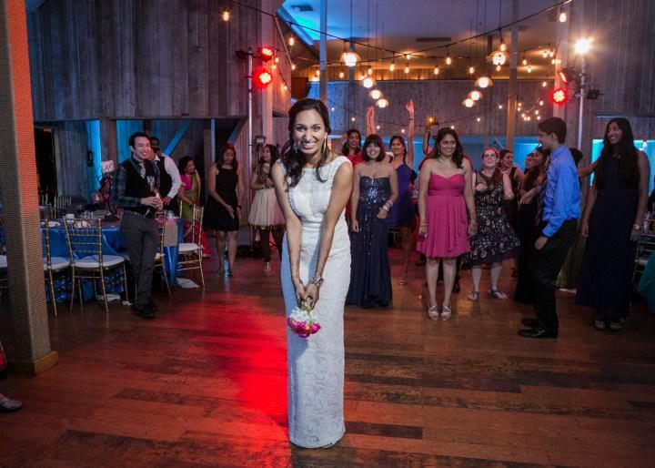 Ashmi-Suraj-Indian-wedding-mandap-varmala-San-Diego-dress-throw-bouquet