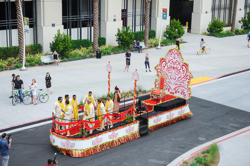 Indian wedding baraat San Diego