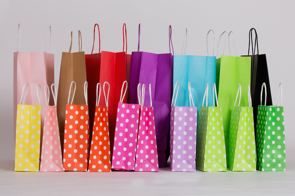 Colorful Welcome bags