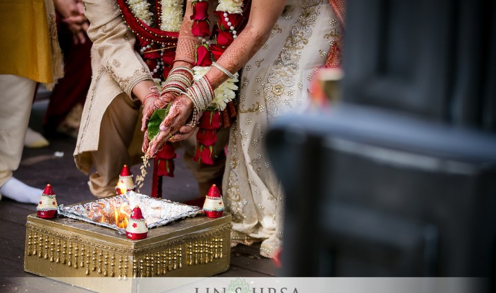 Indian weddings with an Open Flame