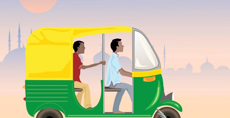 Indian auto rickshaw