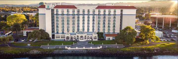 exterior of Embassy Suites SFO Waterfront
