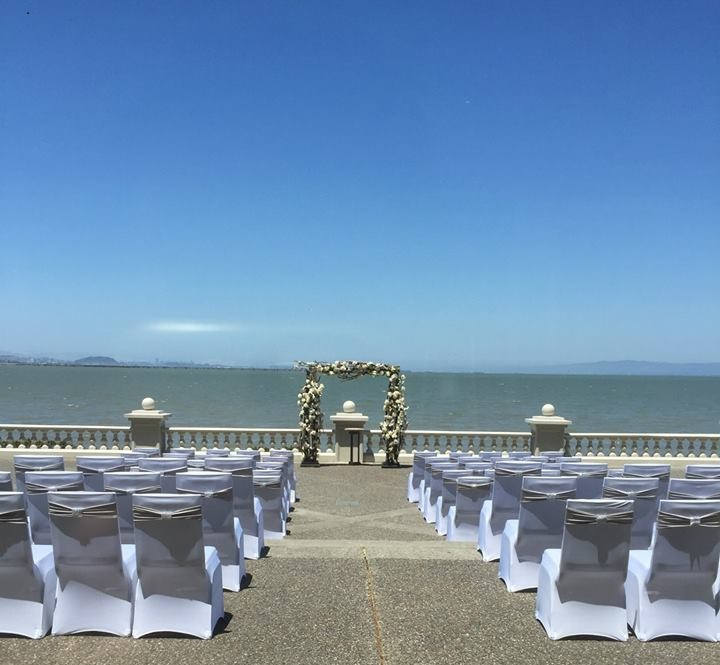 Oceanfront Indian wedding Embassy Suites SFO Waterfront