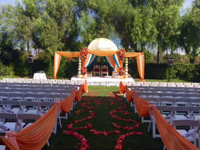 Indian wedding at the Sheraton Fairplex in Pomona