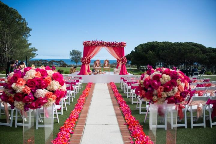 Indian wedding Laguna Cliffs Marriott