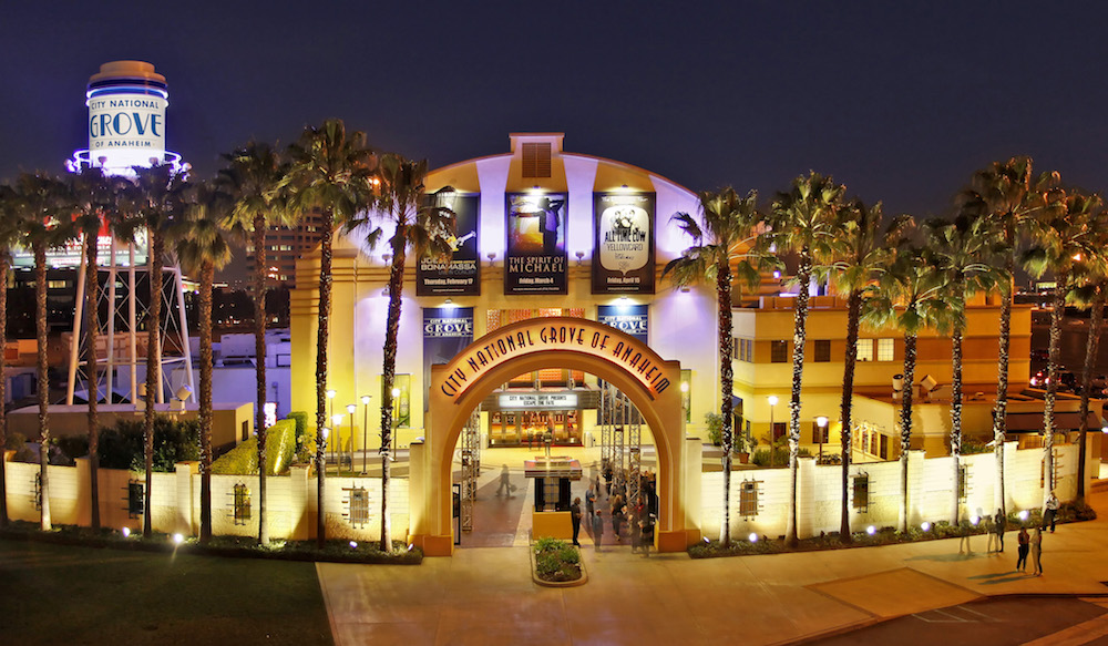 Exterior of the City National Grove of Anaheim
